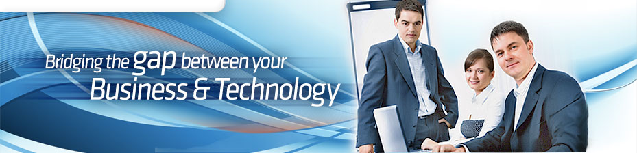 Technology Consulting Banners Orange Colour Banners